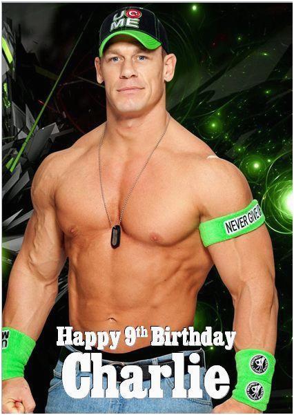 john cena birthday cards