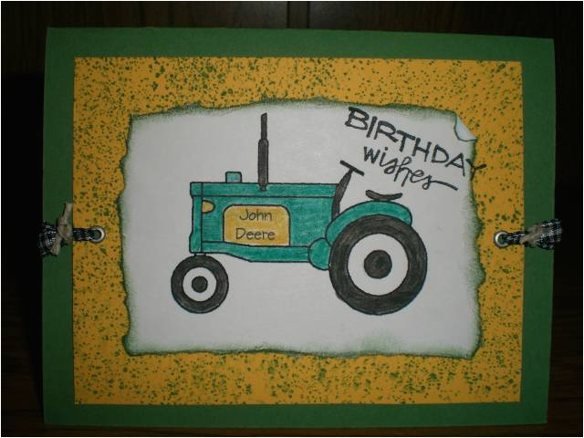 john deere birthday card by blessedby2boys at