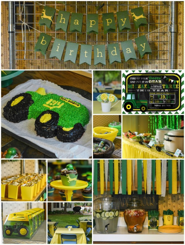 John Deere Birthday Decorations Party Ideas For A 3 Year Old