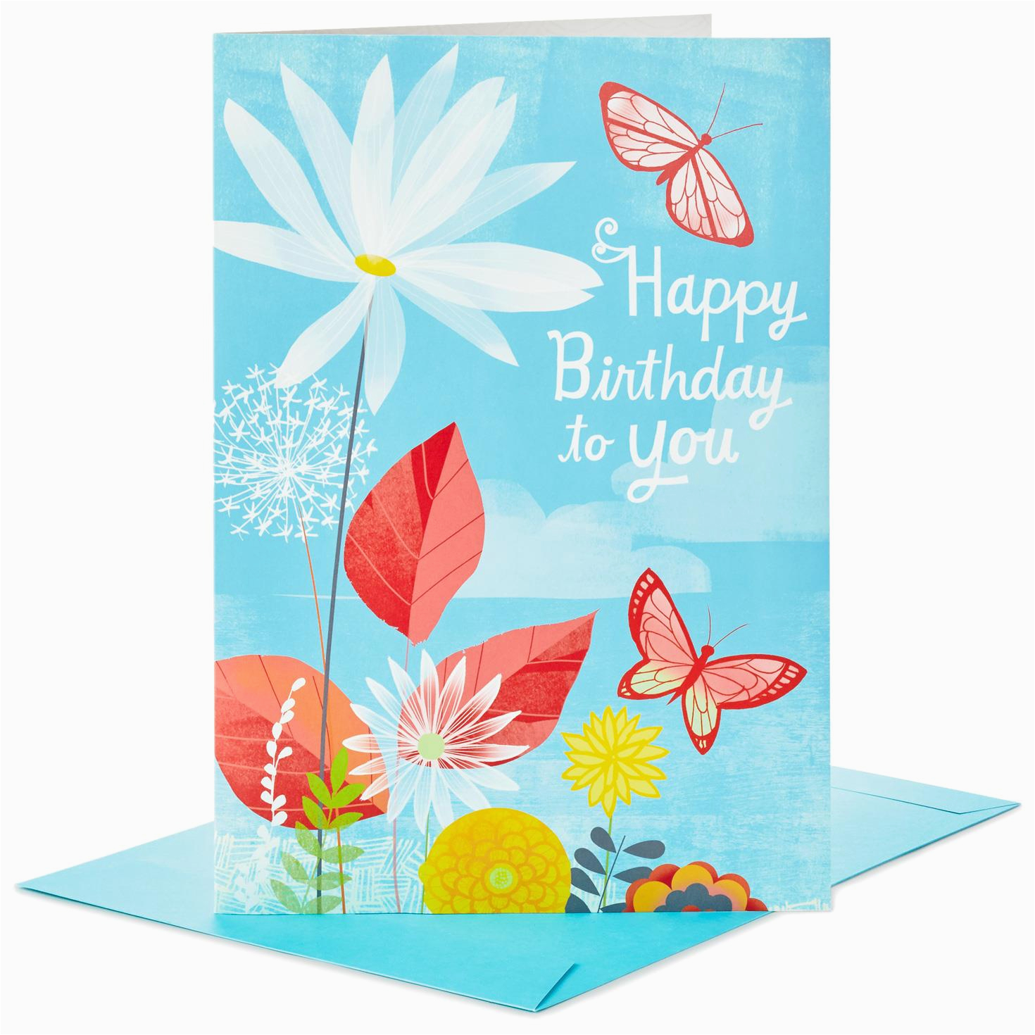 joyful butterflies pop up jumbo birthday card 16