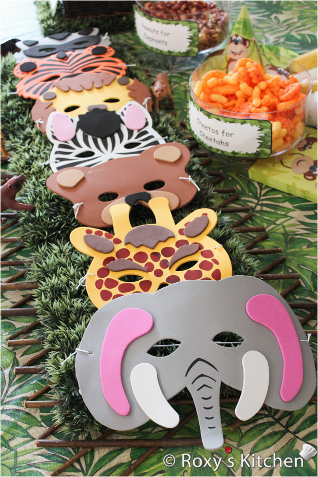 safari jungle themed first birthday party part iv cheap party supplies decorations