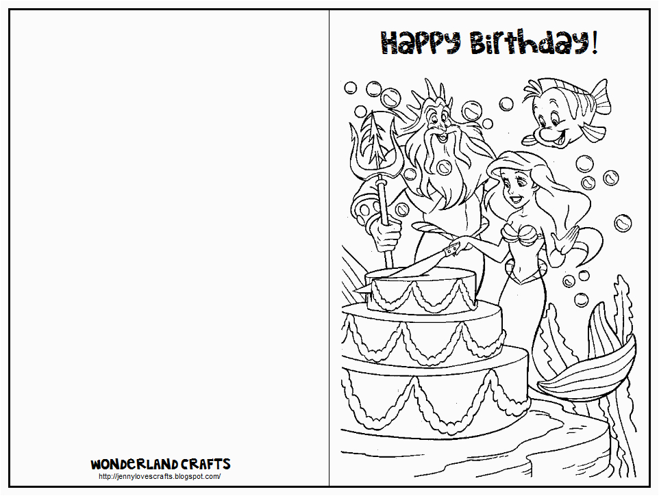 post printable folding birthday cards 3051