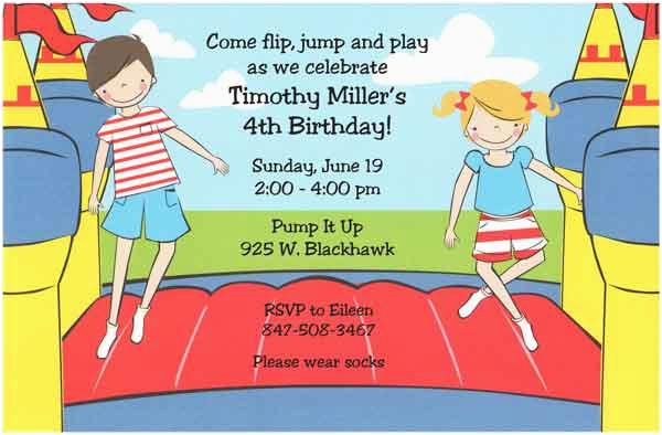 Kids Birthday Invitation Quotes Examples For Orderecigsjuice Info