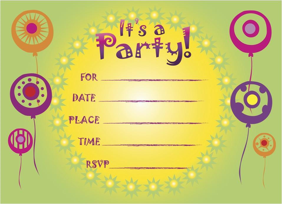 printable birthday invitations 5
