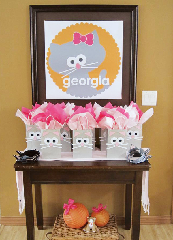 Kitty Cat Birthday Party Decorations Cute Girl 39 S