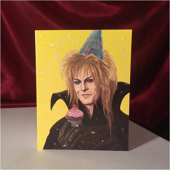 Labyrinth Birthday Card Labyrinth Birthday Card by Castlemcquade On Etsy