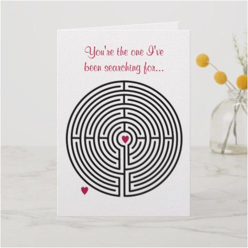 labyrinth love greeting card it 39 s a beautiful world