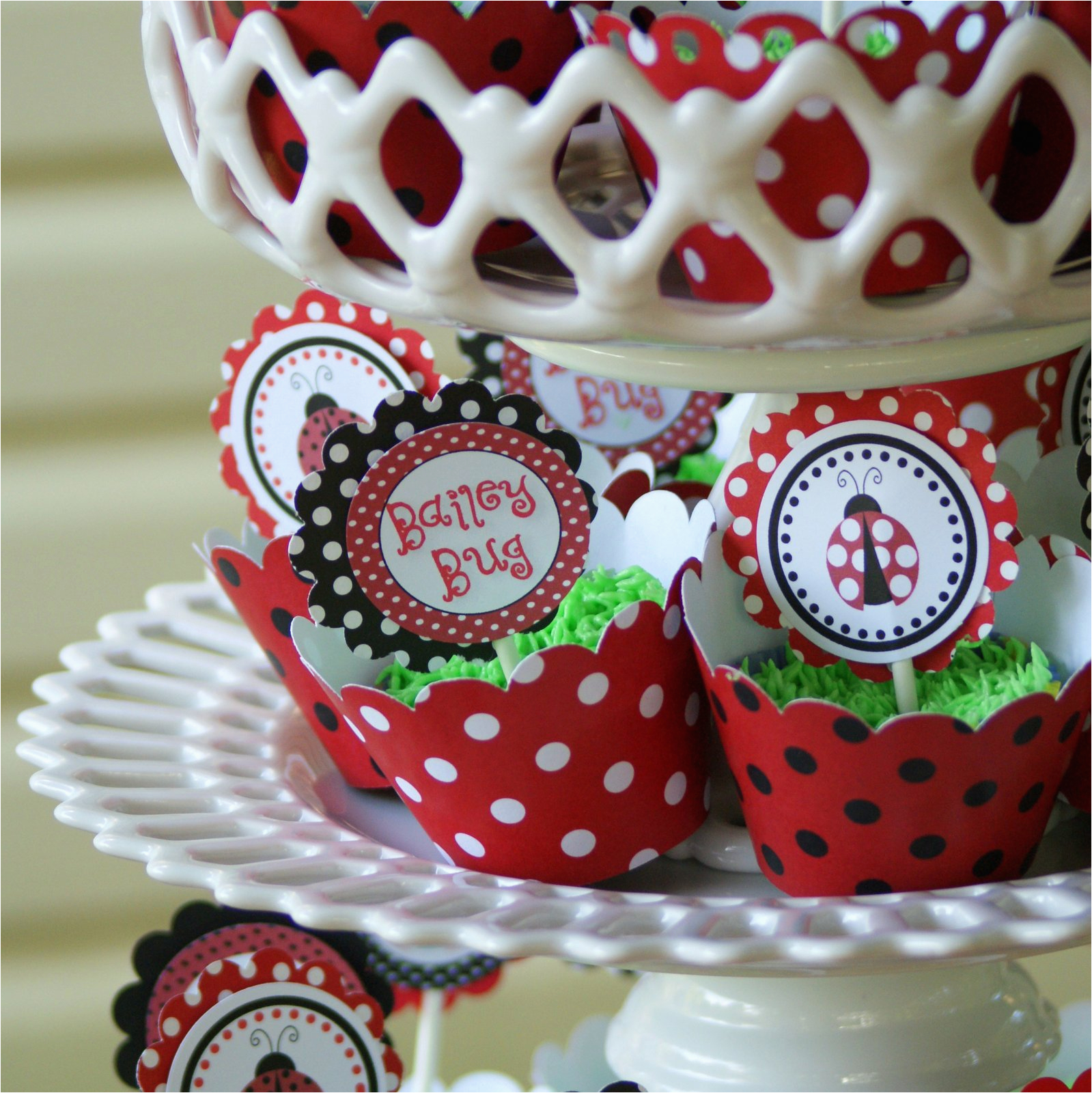 Ladybug 1st Birthday Decorations A Little Loveliness First Party