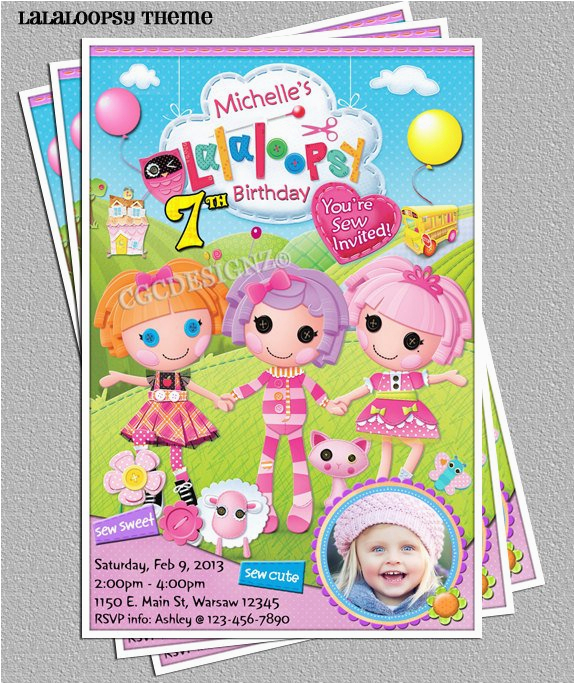 lalaloopsy birthday party photo