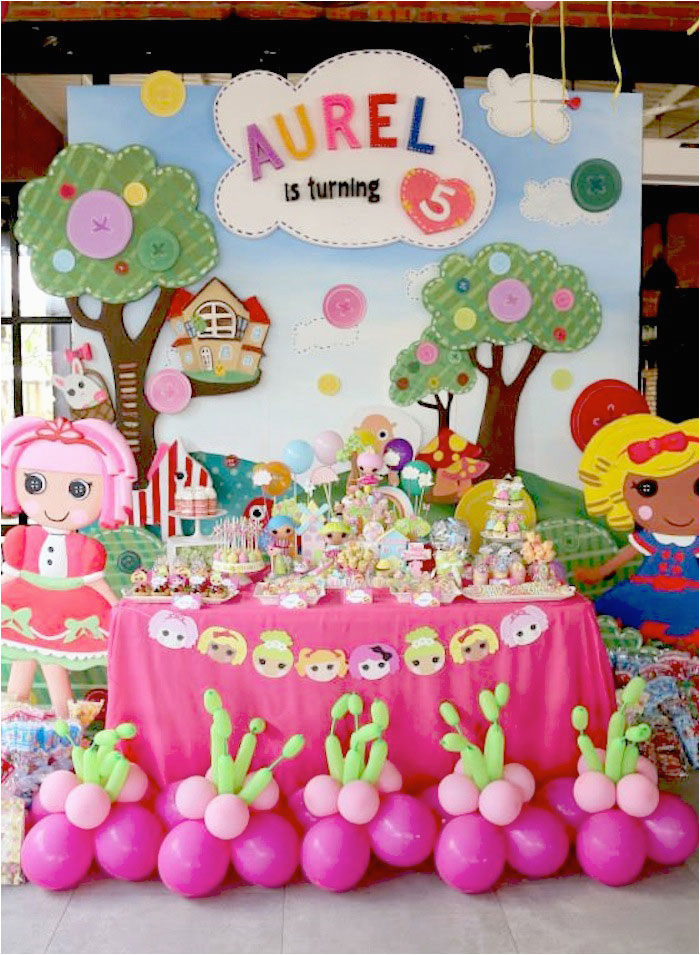 lalaloopsy themed birthday party 3