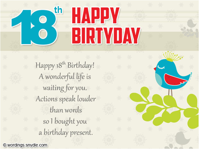 Large 18th Birthday Cards For Son Wishes Greeting And Messages Wordings