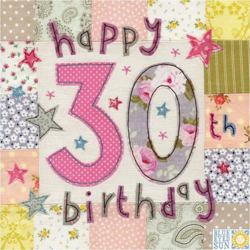 happy 30th birthday card large luxury birthday card