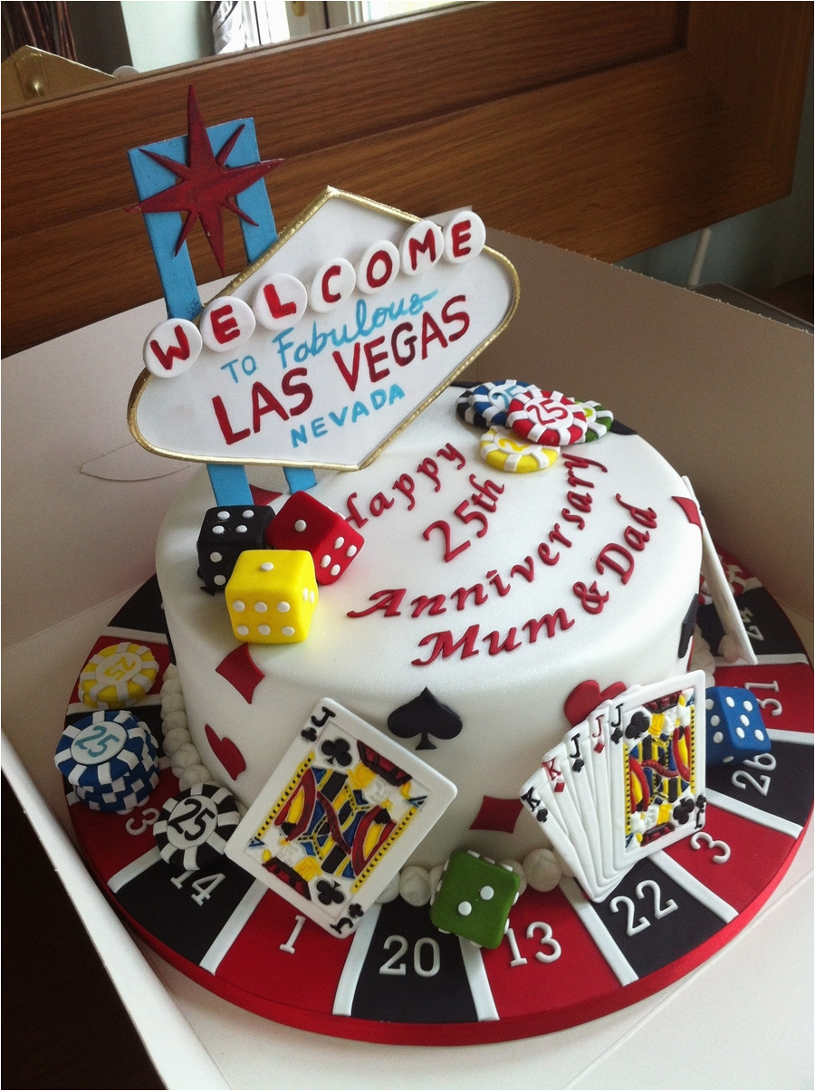 Las Vegas Themed Birthday Cards Poker Cake Cakecentral Com