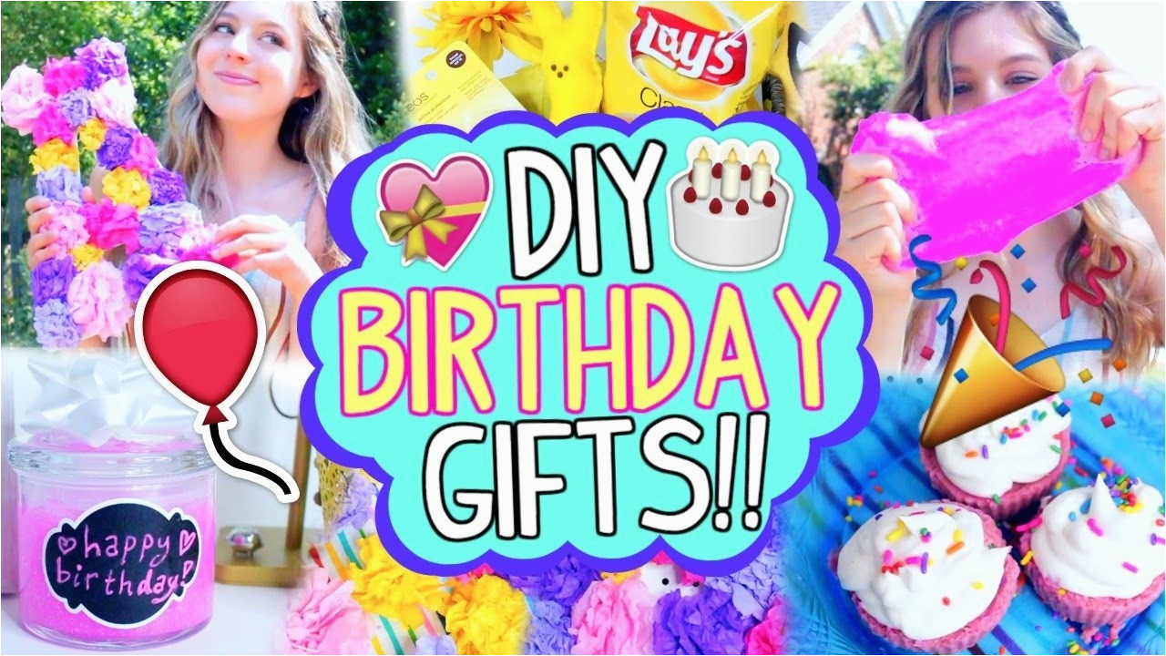 Last Minute Birthday Gift Ideas For Her Diy Gifts Your Best Friend Easy Cheap