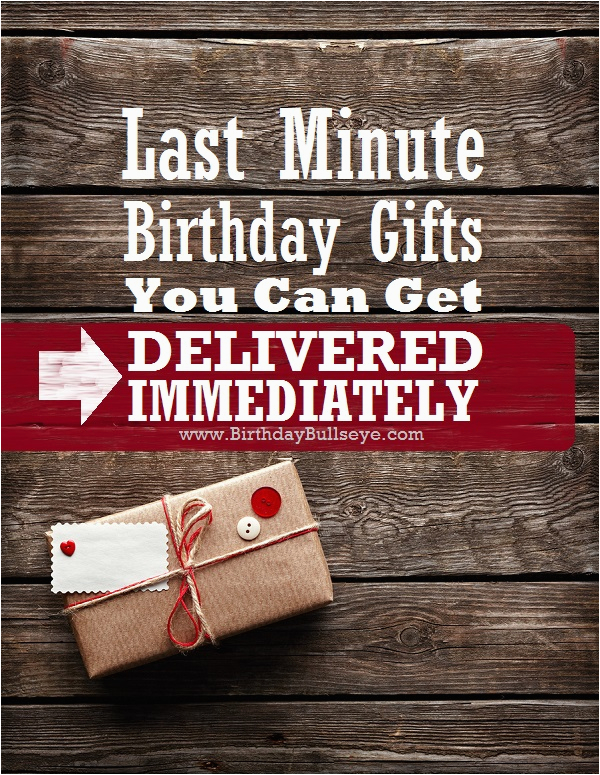 12 last minute birthday gifts delivered instantly to their