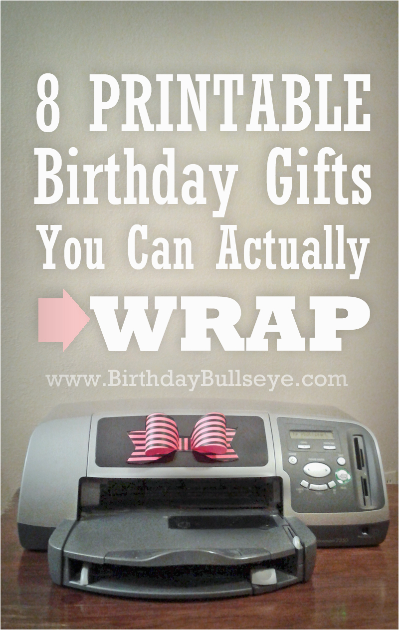Last Minute Birthday Gifts For Her 8 Printable You Can Actually Wrap