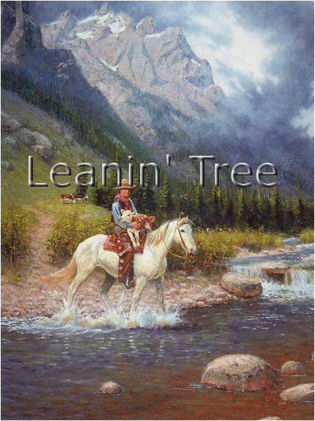 leanin tree cowboy birthday greeting card bdg43245