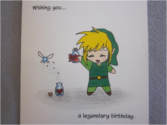 zelda birthday card link to my heart pinterest