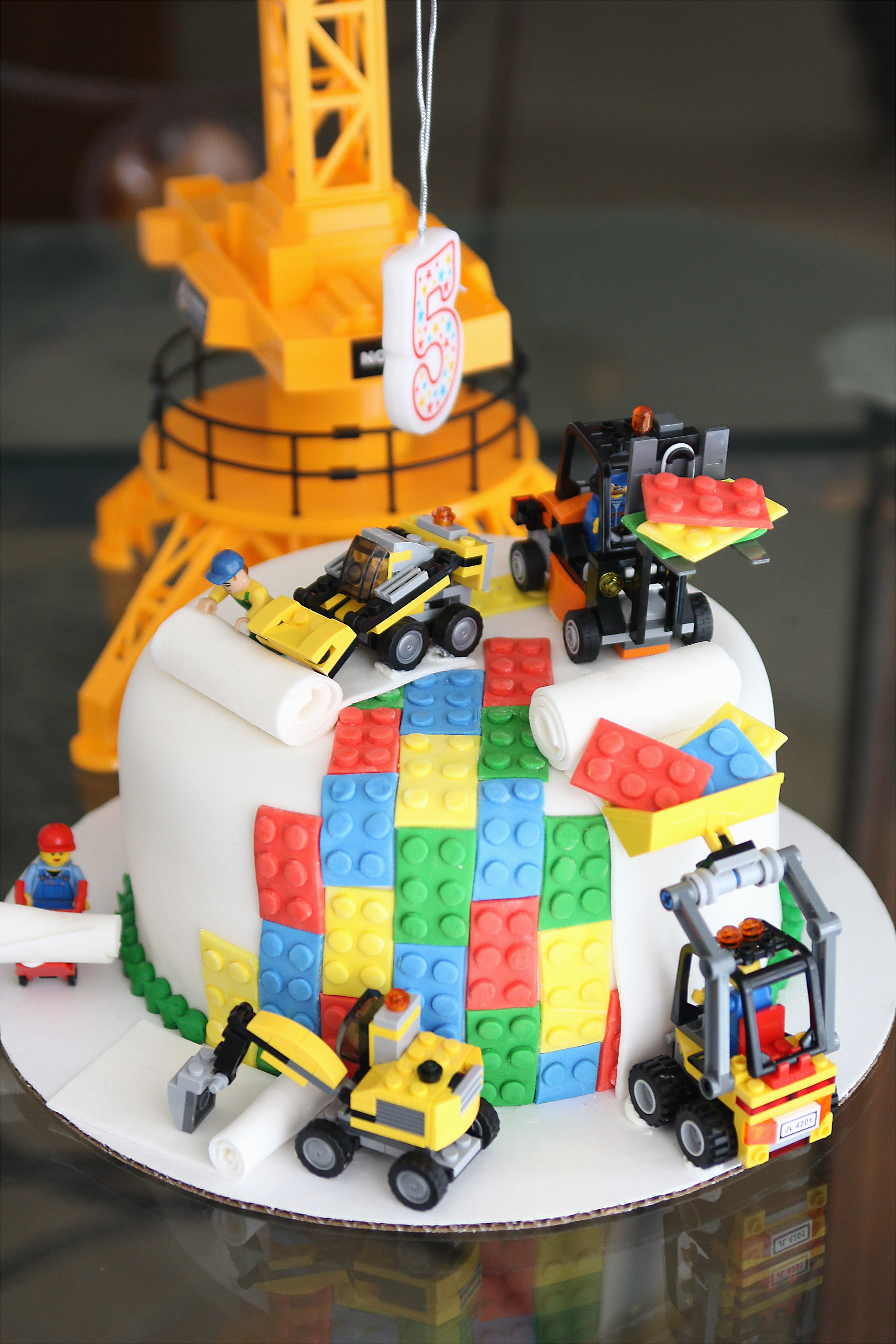 amazing lego cake little boy 5