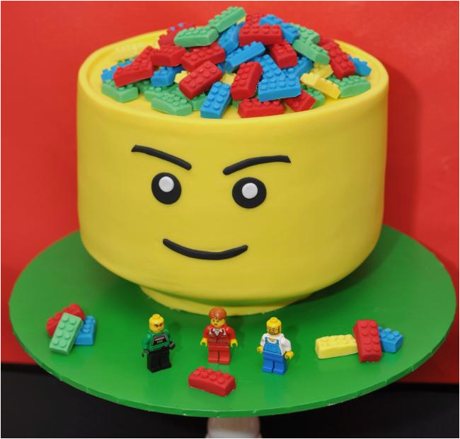 boys lego themed 5th birthday party