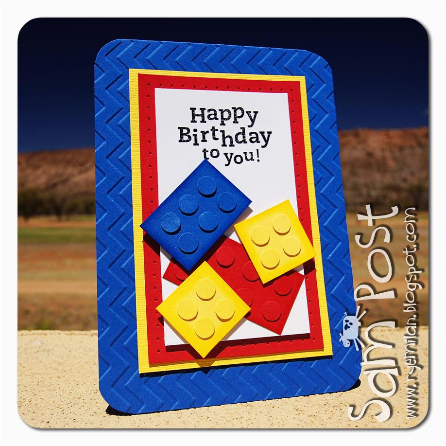Lego Birthday Card Ideas Ryemilan 39 S Ramblings for All the Lego Fans