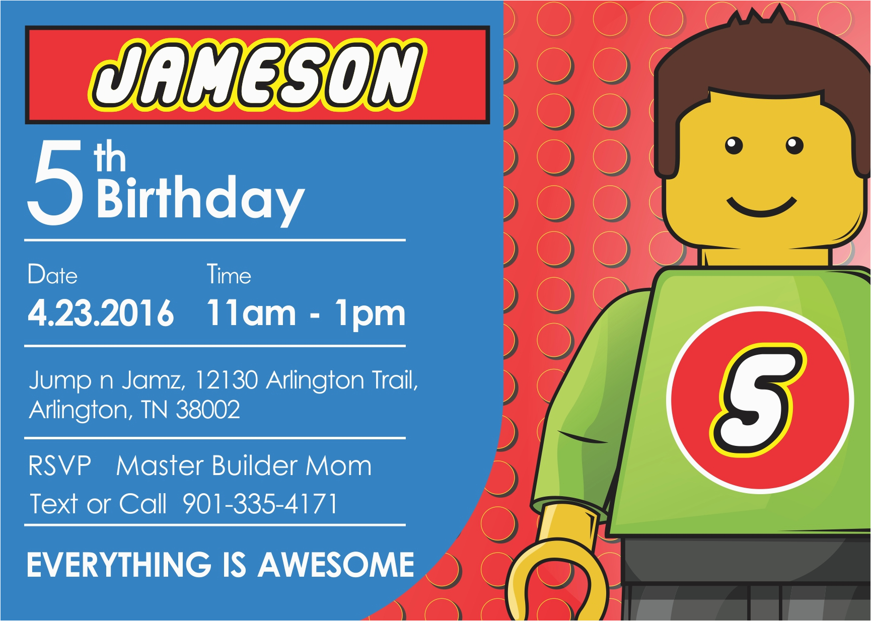 Lego Birthday Invitations Online Free Bagvania Printable