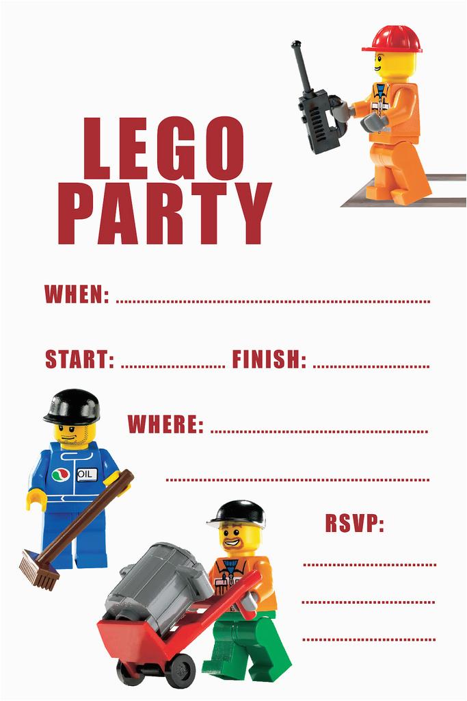 Lego Birthday Party Invitations Online 40th Ideas Free Invitation