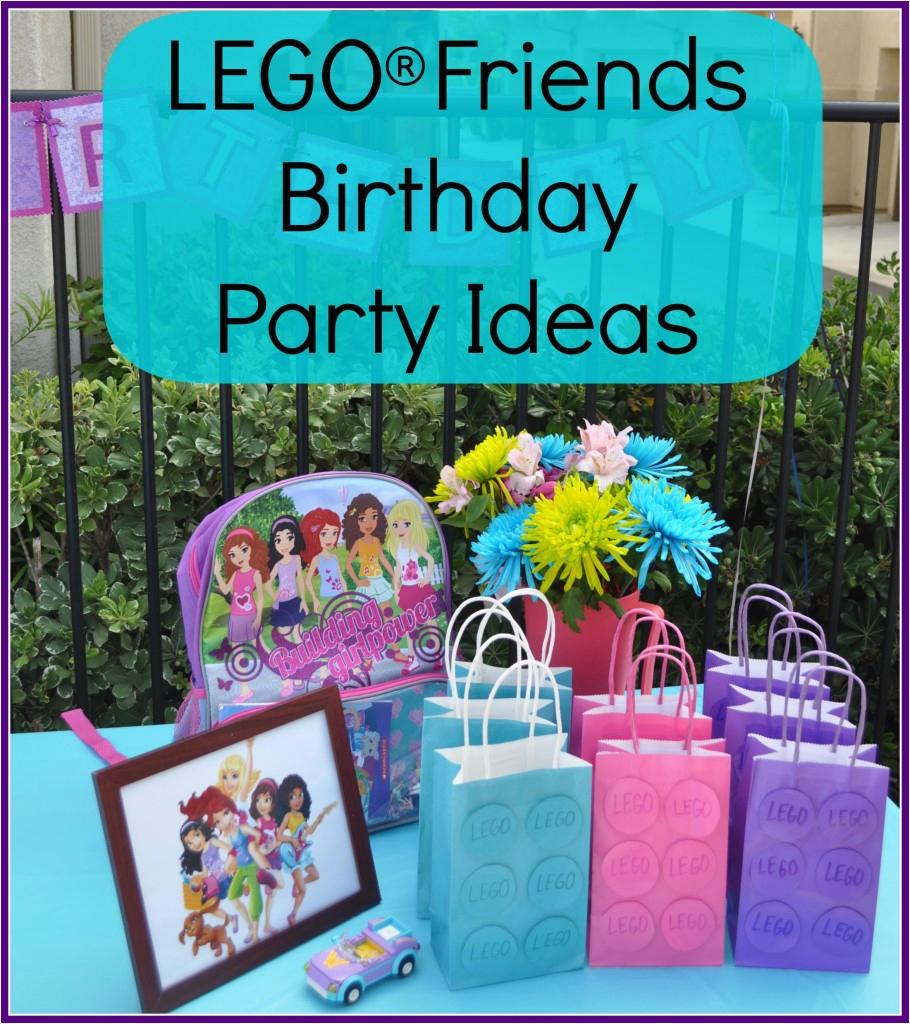 Lego Friends Birthday Party Decorations Lego Friends Birthday Party Ideas the Mama Mary Show