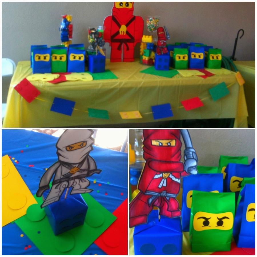 lego ninjago birthday party