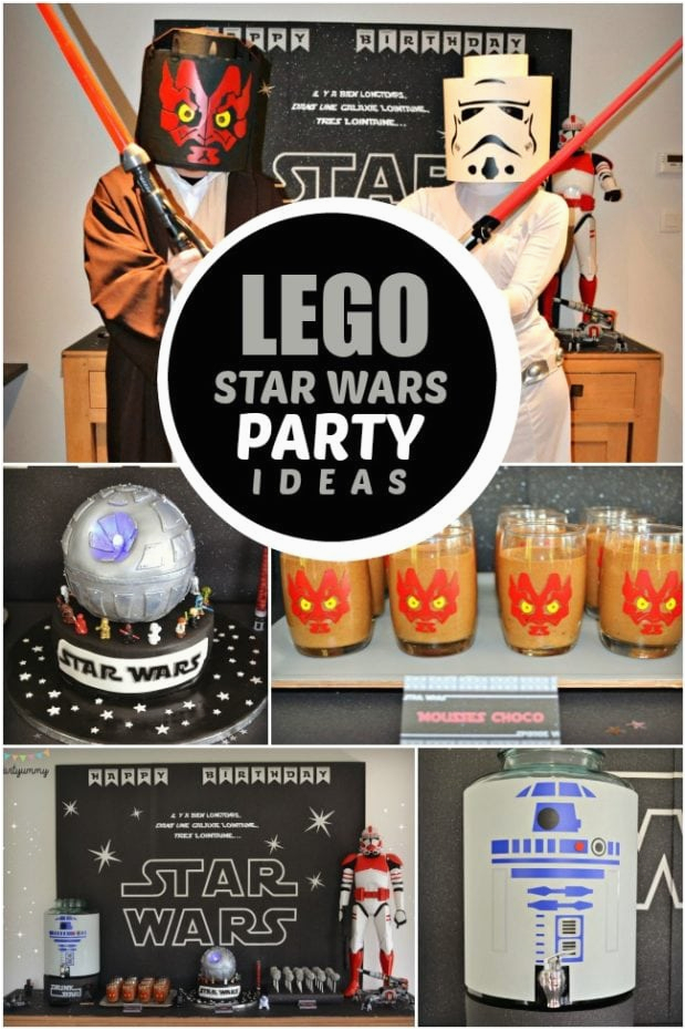 Lego Star Wars Birthday Decorations A Boy S 6th Party Spaceships And