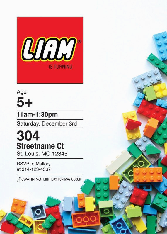 top 25 best lego birthday invitations ideas on pinterest