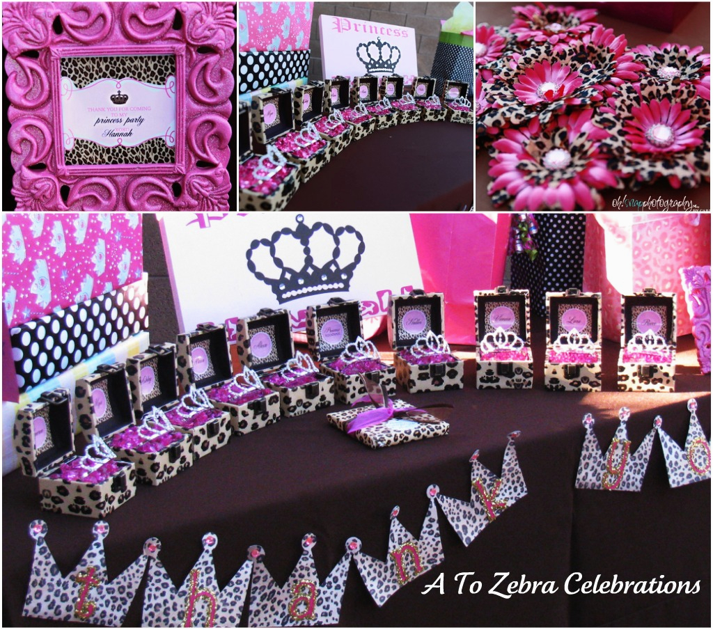 Leopard Birthday Decorations Leopard Princess Party Style with Nancy