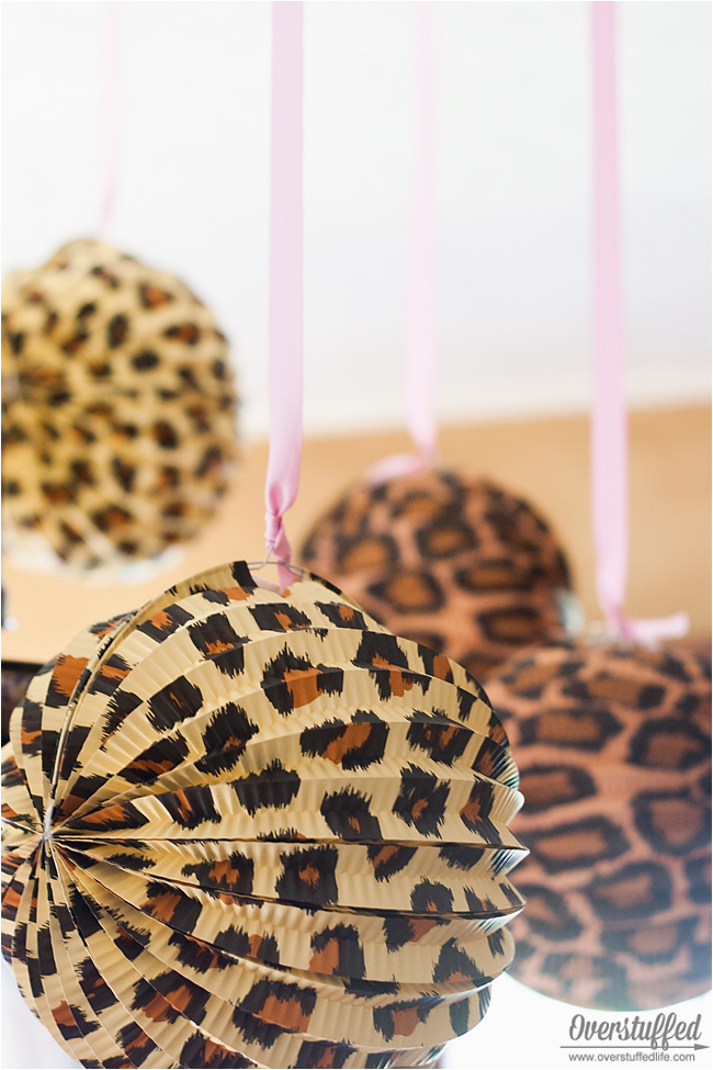 Leopard Decorations for Birthday Super Simple Cheetah Birthday Party Ideas Overstuffed