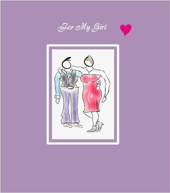 lesbian birthday card lesbian birthday lesbian couple gay
