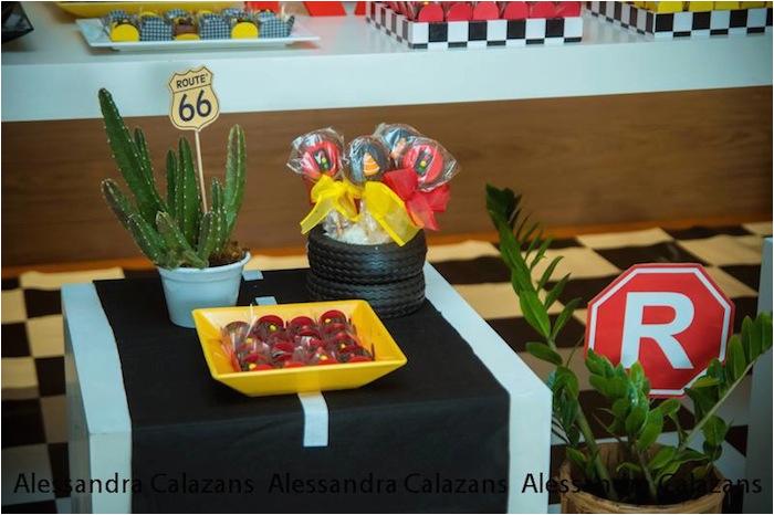 Lightning Mcqueen Birthday Decoration Ideas Kara 39 S Party Cars