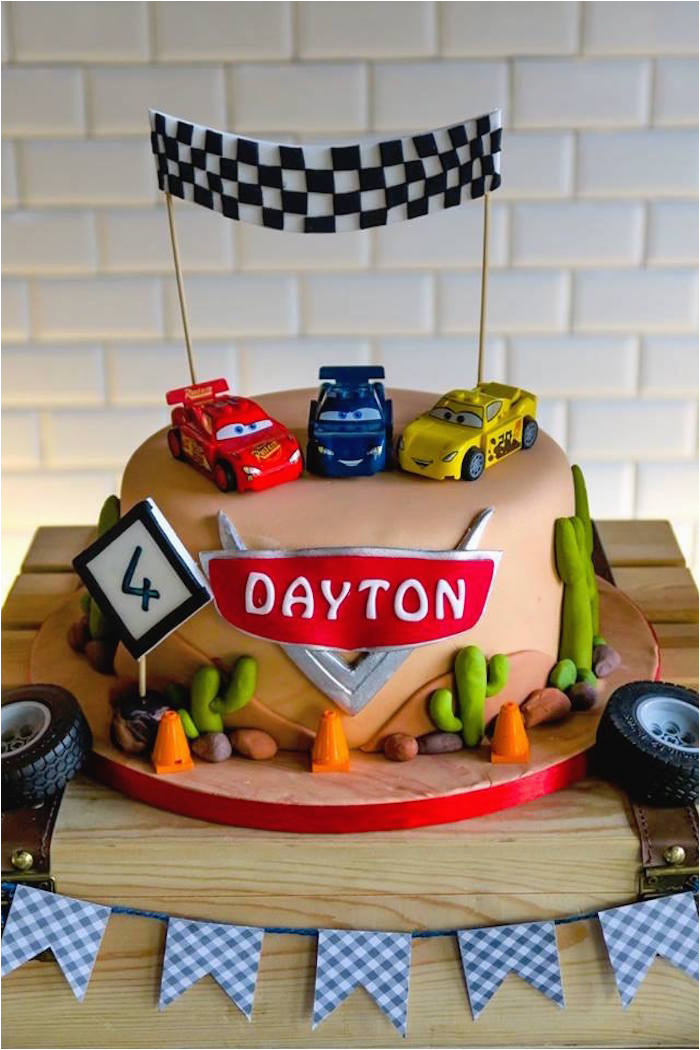 lightning mcqueen cars birthday party