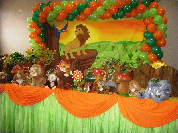 lion guard birthday party ideas