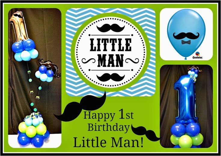 Little Man 1st Birthday Decorations Charleston Balloon Company We Make Parties Fabulous