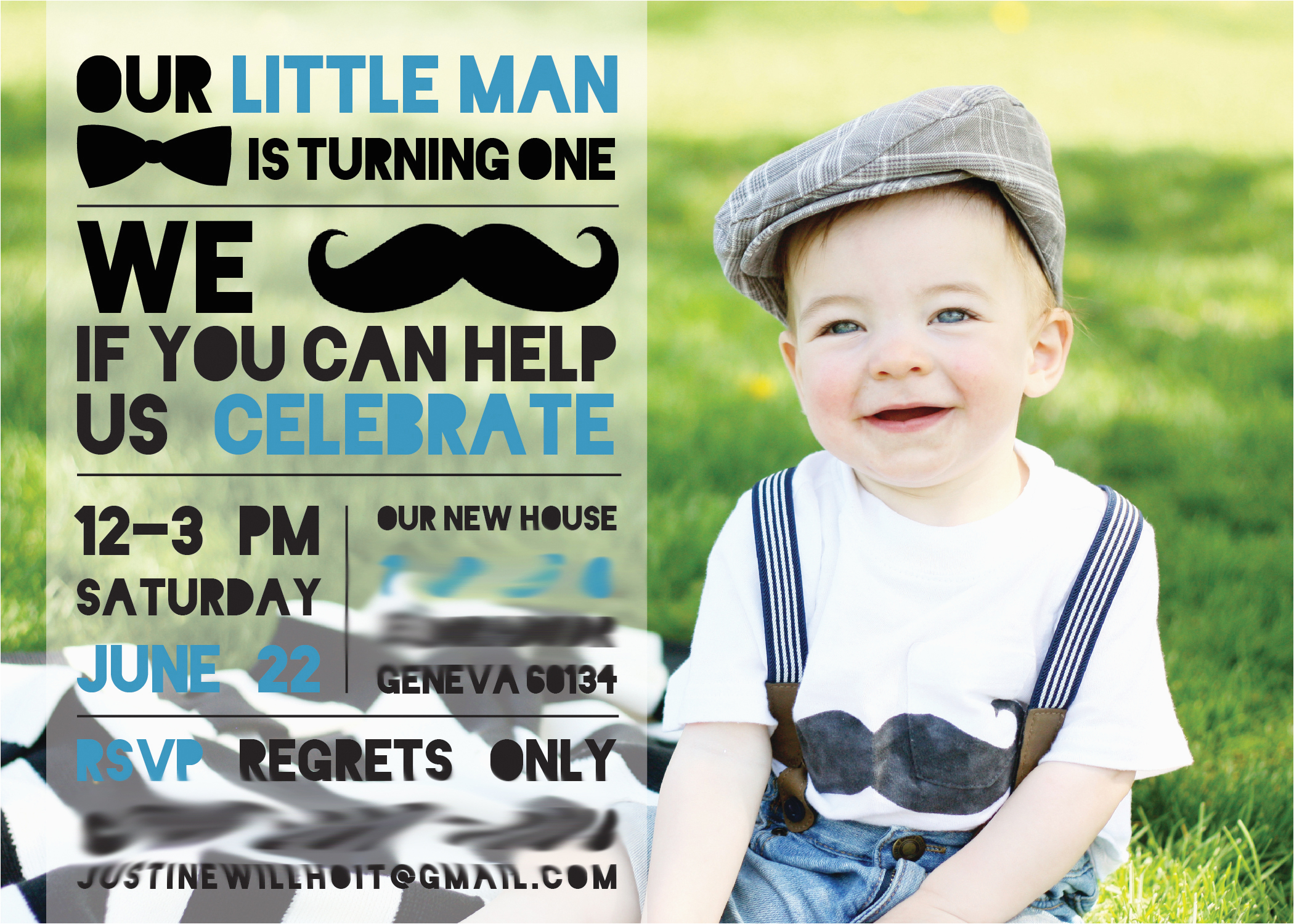 henrys little man first birthday party