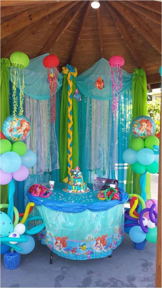 Little Mermaid Birthday Decoration Ideas Birthdaybuzz