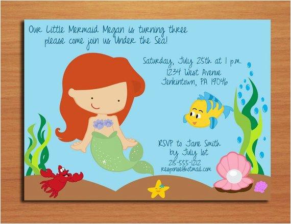 ariel little mermaid princess birthday