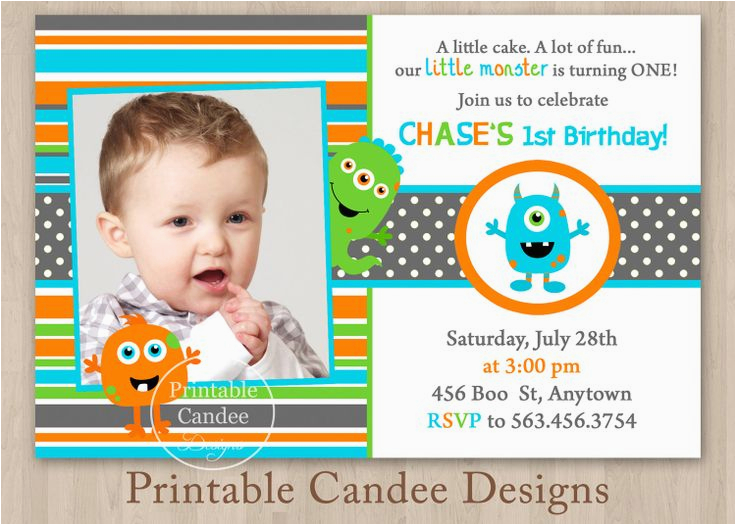 little monsters 1st birthday ideas