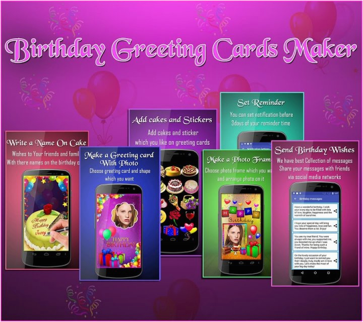 birthday greeting cards maker download apk for android