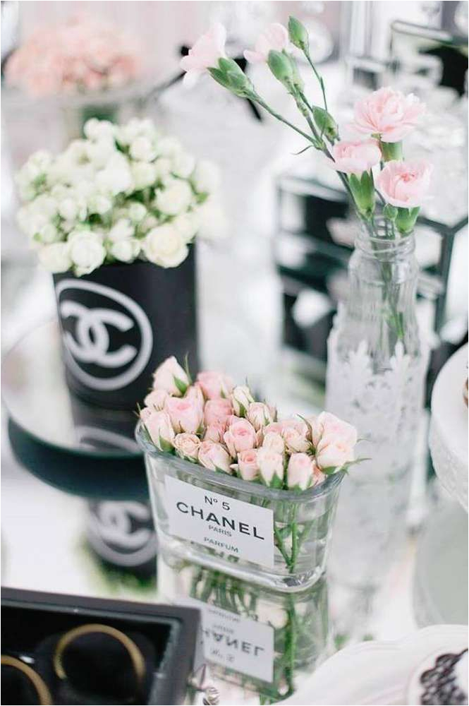 chanel luxury birthday party ideas pinterest chanel