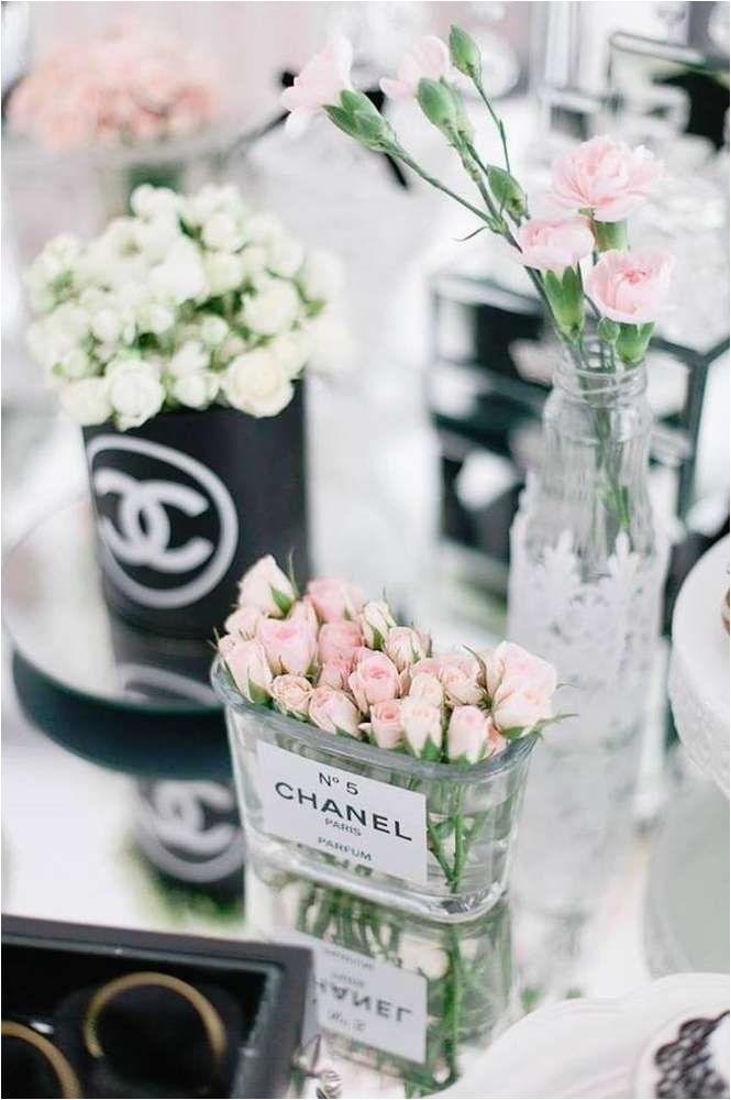 chanel luxury birthday party ideas pinterest chanel