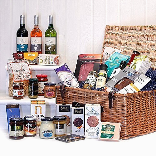 organic hampers duchy originals chocolate food wine gift