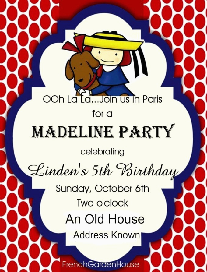 madeline birthday party
