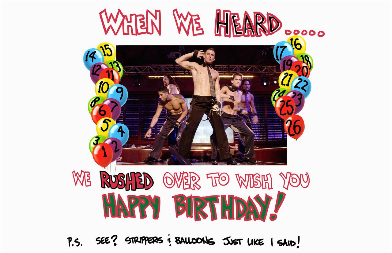 Magic Mike Birthday Card Magic Mike Birthday Cake Idea 71852 Magic Mike Birthday Ma