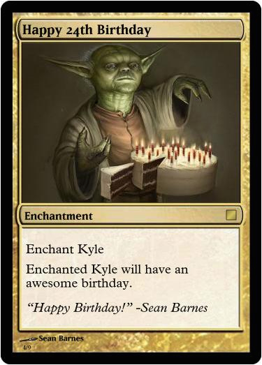 mixed bag kyles b day cards