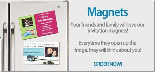 invite magnets
